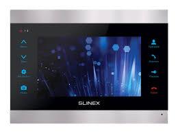 <b>Видеодомофон SLINEX SL</b>-<b>07M Silver</b>+<b>Black</b>, купить в Москве на ...