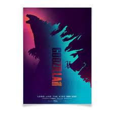 "Плакат A2(42x59) ""<b>Годзилла</b> / <b>Godzilla</b>"" #2777842 от kino.<b>printio</b> ..."
