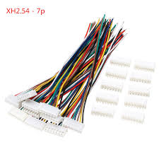 Excellway® <b>10 Sets Mini Micro JST</b> XH2.54mm 7 Pin Connector ...