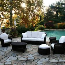 best black wicker patio furniture sets as home depot patio furniture in wicker patio sectional black and white patio furniture