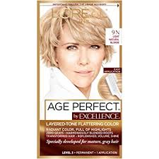 L'Oreal Paris Age Perfect Permanent Hair Color, 9N ... - Amazon.com
