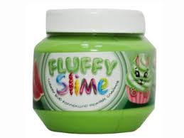 <b>Слайм KiKi Monsters Slime</b> Fluffy Бабл-гам 250ml FLB004 - Мрамор