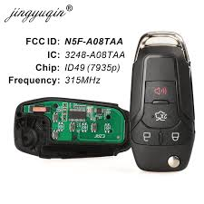 <b>jingyuqin Smart Remote</b> Flip Key 315MHz for Ford Fusion 2013 ...