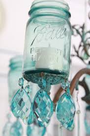 amazing diy mason jar chandelier 4 500x749 diy vintage mason jar chandelier
