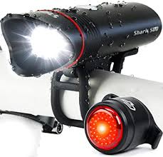 Bike Light USB Rechargeable, Cycle Torch Shark ... - Amazon.com