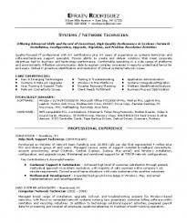 Resume Examples: Tech Resume Template Software Engineer Objective ... Resume Examples, Efrain Rodriguez Professional Experience Tech Resume Systems Network Technician Offering Advanced Skills And