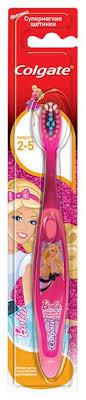 <b>Зубная щетка Colgate Smiles</b> Barbie/Spiderman супермягкая ...
