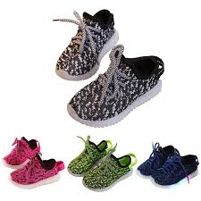 Coconut <b>Lovely</b> Baby <b>Boys Girls</b> LED Soft Breathable shoes Toddler ...