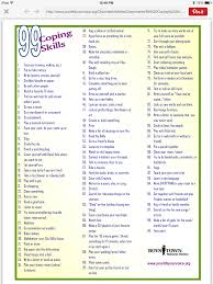 boys town list of distractions ways to cope stress boys town list of 99 distractions ways to cope stress