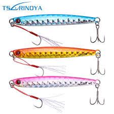 Tsurinoya <b>3pcs</b>/<b>lot</b> Metal <b>Jig</b> Fishing Lure 20g/30g/45g/60g <b>Jigging</b> ...