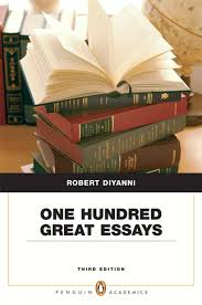 diyanni one hundred great essays penguin academics series one hundred great essays penguin academics series