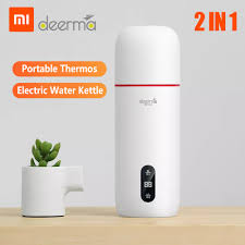 Deerma from <b>Xiaomi Portable Travel</b> Electric Water Kettle Thermos ...