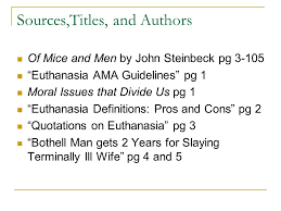 parenthetical citation and works cited of mice and men essay    sources titles  and authors of mice and men by john steinbeck pg