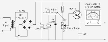 handy   v dc power supply circuit schematic diagram   circuit    handy   v dc power supply circuit schematic diagram
