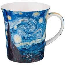 """Кружки   <b>Кружка</b> """"<b>Звездная ночь"""" (В</b>. Ван Гог) 420 мл (кор=36шт ..."""