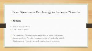 revision unit exam structure psychopathology marks 3 exam