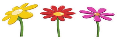 Image result for bright flowers clip art