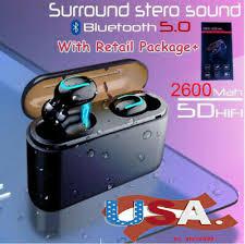 US 2600mAh HBQ-<b>Q32</b> TWS <b>Bluetooth Headset</b> Stere Wireless ...