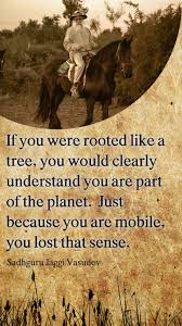 the planet is not in peril what is in peril is human life if you were rooted like a tree you would clearly understand you are part of