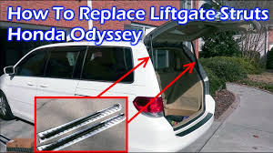 How To Replace Rear <b>Liftgate</b> Struts - Honda Odyssey - YouTube