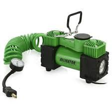 Автомобильный <b>компрессор Alligator AL-500</b> зеленый от 3250 р ...
