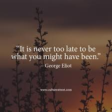 Culture Street | Quote of the Day from George Eliot via Relatably.com