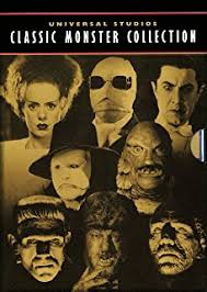 universal studios classic monster collection dracula frankenstein the mummy the invisible man amazoncom stills office