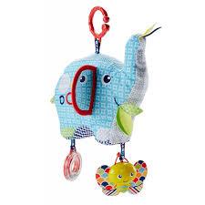 Мягкая <b>игрушка</b>-подвеска Слоник <b>Fisher</b>-<b>Price</b> FDC58 - в интернет ...