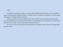ap literature sample essay question essayap english literature sample essay general writing tips