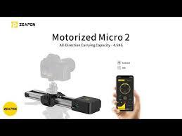 <b>Слайдер ZEAPON</b> Motorized <b>Micro2</b> с подставкой Easylock2 ...