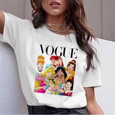 <b>WVIOCE Summer</b> Harajuku <b>Women's</b> T Shirt Cartoon Princess ...