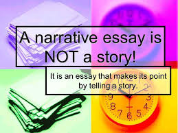 narration essay a sample structure most essay include an
