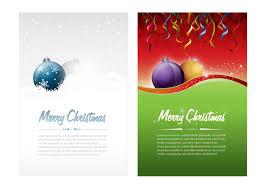 christmas flyer vector art 3418 s christmas card vector or flyer