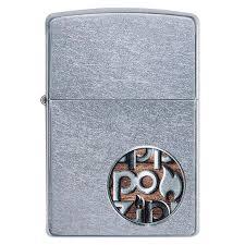 <b>Зажигалка Zippo</b> Zippo <b>Button</b> Logo, 29872 - 070.com.ua