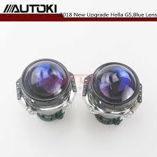 <b>Autoki</b> Hella 3 5 Head lamp Bi xenon Projector Lens Blue film <b>Car</b> ...
