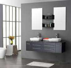 bathroom place vanity contemporary: modern white bathroom vanity a design and ideas