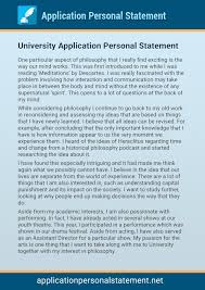 Examples of Personal Statements   Studential com Personal