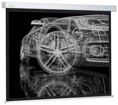 Рулонный матовый белый <b>экран cactus Wallscreen</b> ... — купить по ...