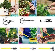Tool Sets MOSFiATA Bonsai Tools Set <b>13 Pcs High</b> Carbon Steel ...
