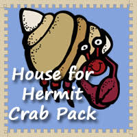 Free House for Hermit Crab Pack   DinosaursA House for Hermit Crab Printables