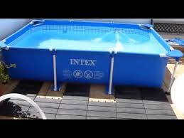 <b>Каркасный бассейн Intex</b> Small Frame Pool <b>28271</b> - YouTube