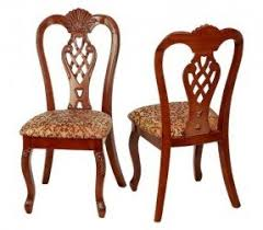 century antique reproduction formal dining chairs queen