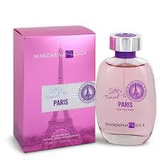 <b>Mandarina Duck Let's</b> Travel To Paris Eau De Toilette Spray By ...