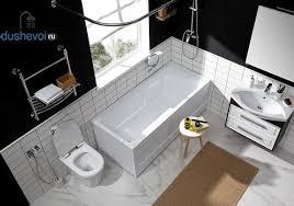 <b>Акриловая ванна Aquanet Taurus</b> 160x75, цена 10971 руб, купить ...