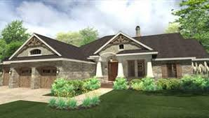 Craftsman House Plans   The House Designersimage of La Casa Bella House Plan