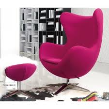 pink arne jacobsen swivel egg chair and stool replica egg chair arne