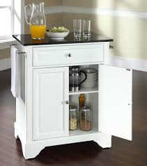 Portable Kitchen Island With Granite Top Buy Lafayette Solid Granite Top Portable Kitchen Island W Bracket Feet