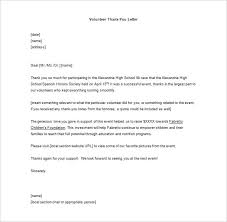 volunteer thank you letter –    free sample  example format    you will appreciate that what happens to you is common to all men  you can use this template to send a thank you letter