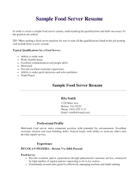 restaurant server cover letter resume template microsoft word cover letter food server resume objective food server resume servers resume food service template sample server