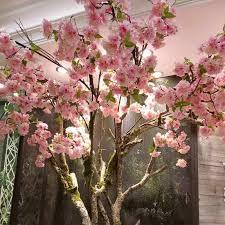 <b>1pc</b> 135cm <b>artificial</b> flower <b>Cherry</b> Blossom Sakura branch Oriental ...